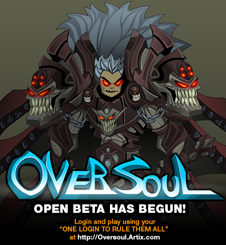 OverSoul BETA has begun!